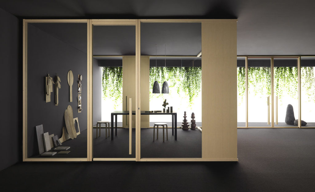 Silent Room, open space, modulable, structure mobile